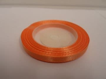 Coral Satin ribbon, 13 metres, Single sided, 6mm 12mm 24mm 48mm 100mm Rolls,