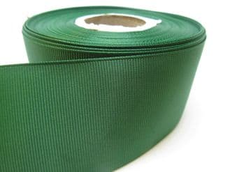 Dark Emerald Green Grosgrain ribbon Ribbed Double sided, 3mm, 6mm 10mm 16mm 22mm 38mm 50mm