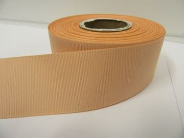Dark Peach Grosgrain ribbon Ribbed Double sided, 3mm, 6mm 10mm 16mm 22mm 38mm 50mm