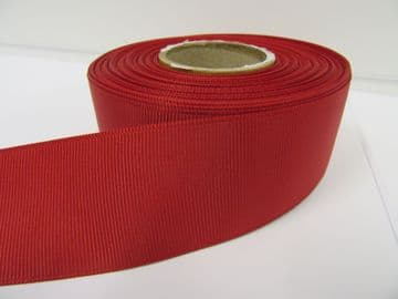 Dark Red Grosgrain ribbon Ribbed Double sided, 3mm, 6mm 10mm 16mm 22mm 38mm 50mm