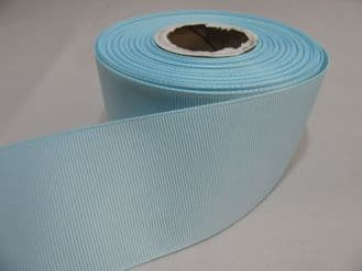 Duck Egg Blue Grosgrain ribbon Ribbed Double sided 3mm, 6mm 10mm 16mm 22mm 38mm 50mm
