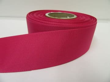 Fuchsia Pink Grosgrain ribbon Ribbed Double sided, 3mm, 6mm 10mm 16mm 22mm 38mm 50mm