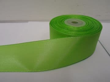 Leaf bright Green Taffeta ribbon, 2 metres, Double sided, 8mm 15mm 25mm 40mm Rolls