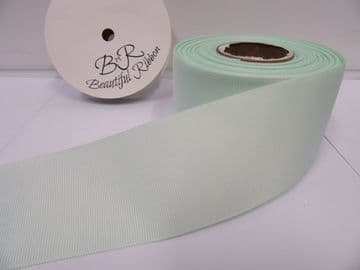 Light Mint Green Grosgrain ribbon Ribbed Double sided, 3mm, 6mm 10mm 16mm 22mm 38mm 50mm