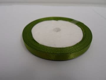 Olive dark Green Satin ribbon, 13 metres, Single sided, 6mm 12mm 24mm 48mm 100mm Rolls,