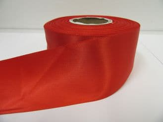 Poppy bright Red Satin ribbon Double sided, 3mm 7mm 10mm 15mm 25mm 38mm 50mm Roll Bow
