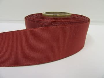 Rust Dark Brown Grosgrain ribbon Ribbed Double sided, 3mm, 6mm 10mm 16mm 22mm 38mm 50mm