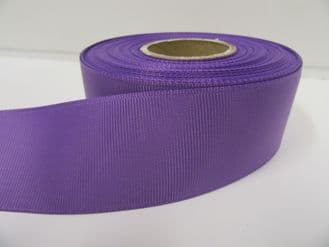Violet Purple Grosgrain ribbon Ribbed Double sided, 3mm, 6mm 10mm 16mm 22mm 38mm 50mm