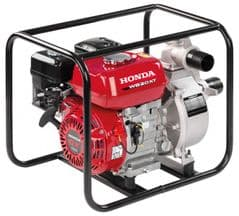 Honda WB20 Water Pump in Carry Frame WB20