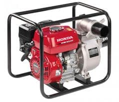 Honda WB30 Water Pump in Carry Frame WB30