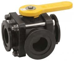 Banjo 3 Way Ball Valve - T Port 9901-MV100SL