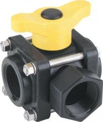 Banjo 3 Way Ball Valve - T Port 9901-V125SL