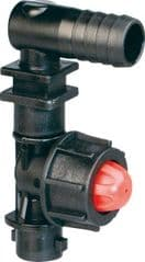 Dry Boom Nozzle Holder with Valve 8235001