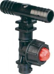 Dry Boom Nozzle Holder with Valve 8235011