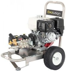 Evolution 2 21200 Stainless Steel Petrol Pressure Washer SS2T21200PHR