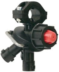 Wet Boom Triple Nozzle Holder with Valve 8239001