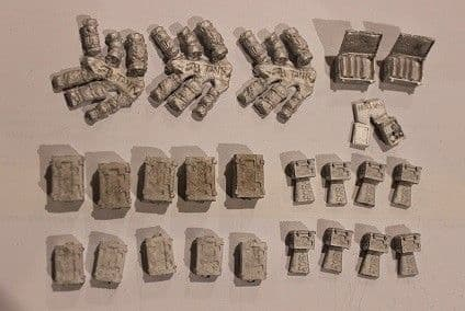 ACS14 Brit ammo boxes and kit