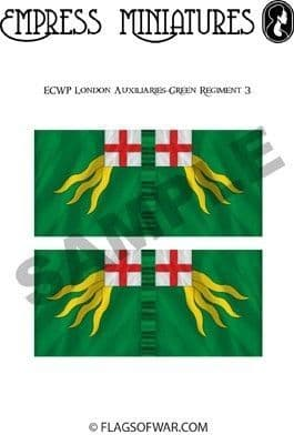 ECW London Auxiliaries-Green Regiment 3