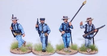 ES1 SPANISH INFANTRY COMMAND GROUP ADVANCING