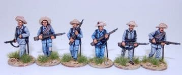 ES3B SPANISH INFANTRY ADVANCING, CAMPAIGN DRESS