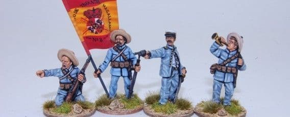 ESF1 SPANISH INFANTRY COMMAND GROUP IN ACTION