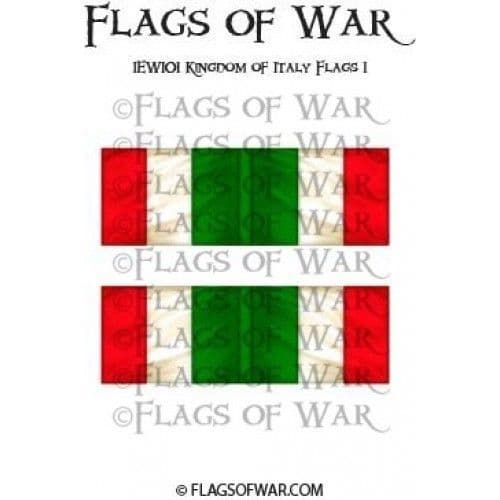 IEWI01 Kingdom of Italy Flags 1