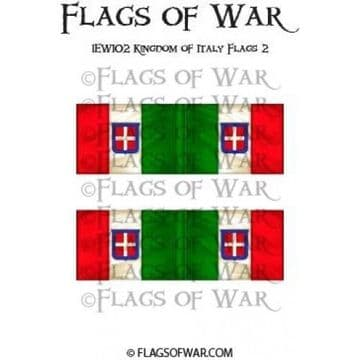 IEWI02 Kingdom of Italy Flags 2