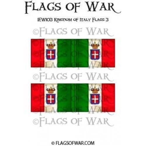 IEWI03 Kingdom of Italy Flags 3