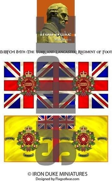 IMBF04 84TH (THE YORK AND LANCASTER) REGIMENT.