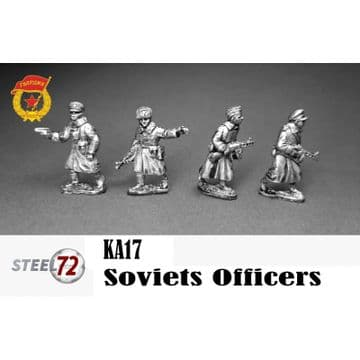 KA17 Soviet Officers.