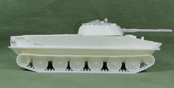 PT76  Amphibious light tank