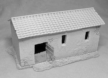 Small stables / rustic barn.