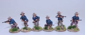 US6SA Dismounted Cavalry /Rough Riders skirmishing