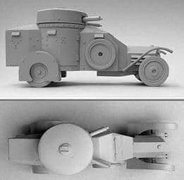 VEH37 Lancia LZM Armoured Car