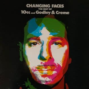 10cc/Godley & Creme - Changing Faces: The Best Of 10cc And Godley & Creme (LP) (VG/VG-)