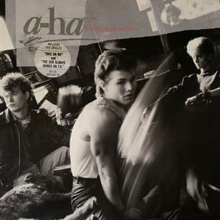 A-Ha ‎- Hunting High And Low (LP) (VG/VG)