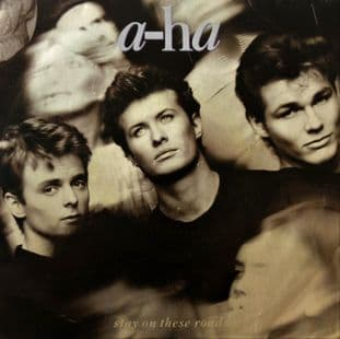 "A-Ha - Stay On These Roads (7"") (G+/G+)"