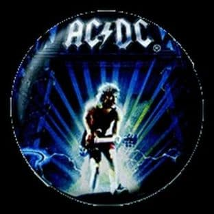 AC/DC - (25mm Button Badge)