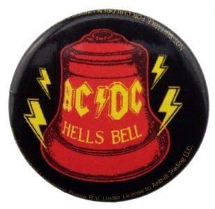 AC/DC - Hells Bell (25mm Button Badge)