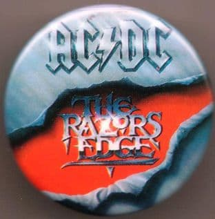 AC/DC - The Razors Edge (25mm Button Badge)