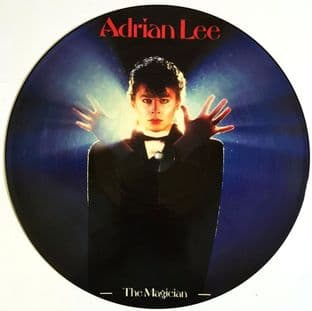 Adrian Lee - The Magician (LP) (Picture Disc) (VG/NM)