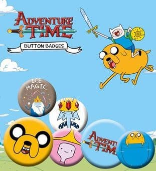 Adventure Time - Badge Pack