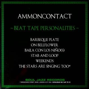"""AmmonContact - Beat Tape Personalities (12"""") (VG+/VG+)"""