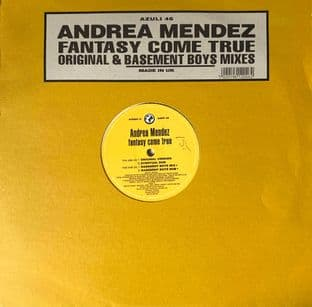 "Andrea Mendez ‎- Fantasy Come True (Original Mix) (12"") (G++/G++)"