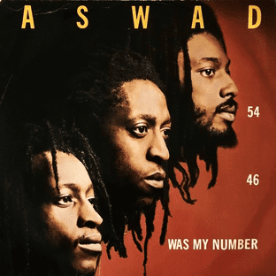 """Aswad - 54-46 (Was My Number)  (12"""") (G/G-)"""