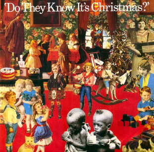 """Band Aid - Do They Know It's Christmas? (12"""") (EX/VG)"""