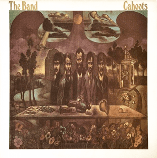 Band (The) - Cahoots (LP) (EX++/VG)