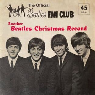 """Beatles (The) - Another Beatles Christmas Record (7"""" Flexi) (Promo) (G/VG-)"""