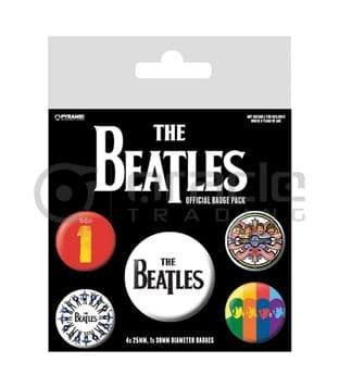 Beatles (The) - Badge Pack