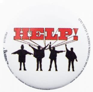 Beatles (The) - Help! (25mm Button Badge)
